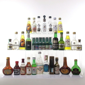 Liqueur Miniature Selection x 29