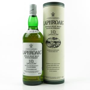 Laphroaig 10 Year Old 1 Litre