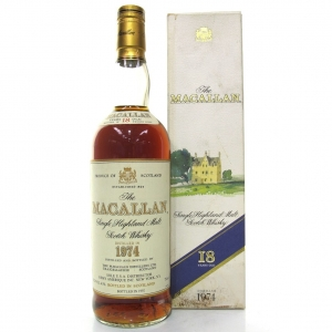 Macallan 18 Year Old 1974 75cl / US Import