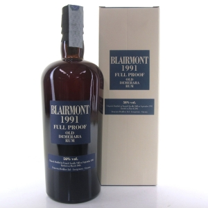Blairmont 1991 Full Proof 15 Year Old Guyana Demerara Rum