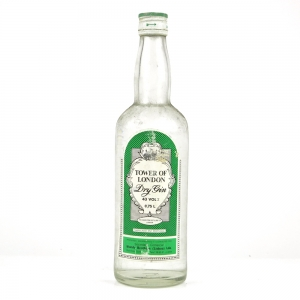 Tower of London Dry Gin 1970s