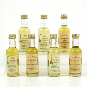 Assorted Single Malts James MacArther 7 x 5cl