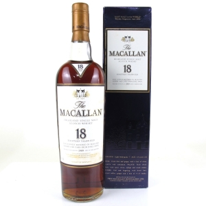 Macallan 18 Year Old 1989