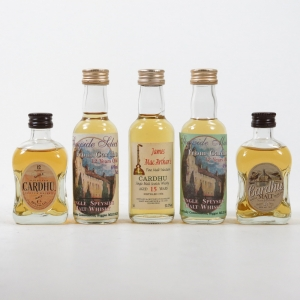 Cardhu Miniature Collection 5 x 5cl