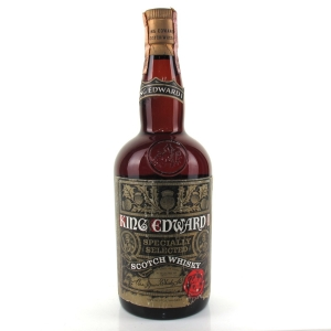 King Edward 1st Scotch Whisky 1960s / Martini & Rossi Import