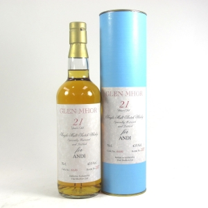 *Glen Mhor Hart Brothers 21 Year Old single Cask / For ANDI