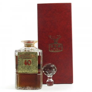 Macallan 40 Year Old Gordon and MacPhail Decanter / Pinerolo Import