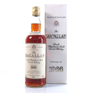 Macallan 18 Year Old 1966