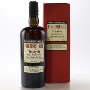 Foursquare Velier Triptych Single Blended Rum