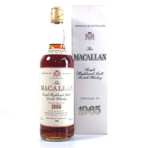 Macallan 18 Year Old 1965