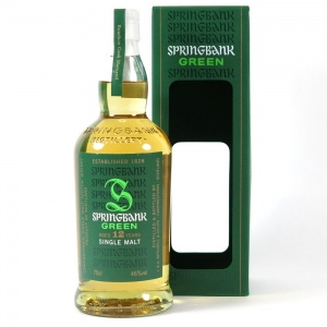 Springbank Green 12 year old Front