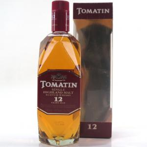 Tomatin 12 Year Old 1980s 75cl / US Import