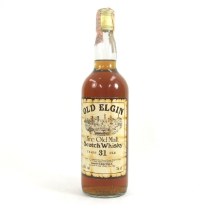 Old Elgin 31 Year Old Gordon and MacPhail