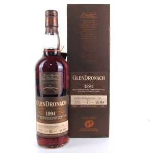 Glendronach 1994 Single Cask 21 Year Old #339