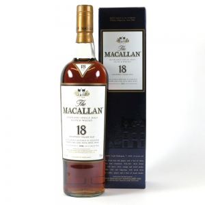 Macallan 1990 18 Year Old (US Import) 75cl Front