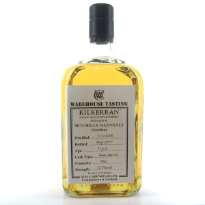 Kilkerran 2006 Rum Barrel 11 Year Old / Warehouse Tasting