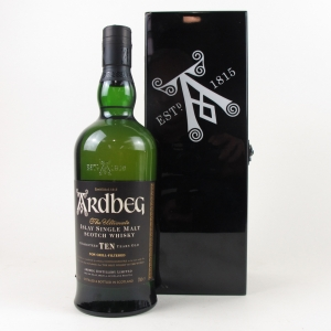 Ardbeg 10 Year Old Black Mystery 2nd Release