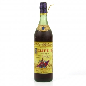 Felipe II Brandy Sherry 1950s