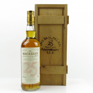 Macallan 1965 Anniversary Malt 25 Year Old