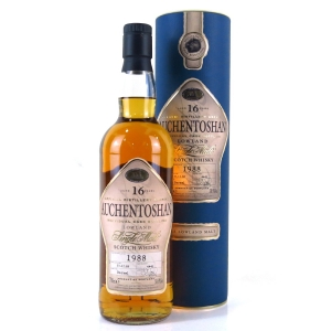 Auchentoshan 1988 Single Cask 16 Year Old