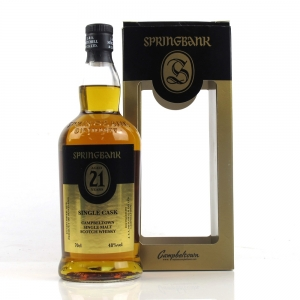 Springbank 21 Year Old Single Cask / Fourcroy, Nederland