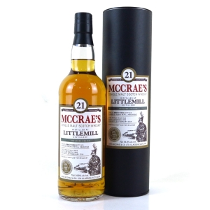 Littlemill 1992 McCrae's 21 Year Old / Belgian Exclusive