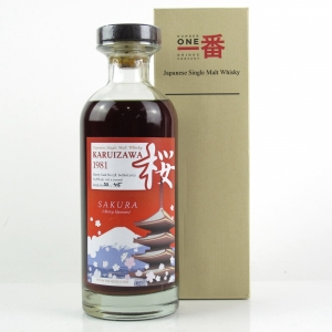 Karuizawa 1981 Single Cask #158 / Sakura Cask - Only 45 Bottles