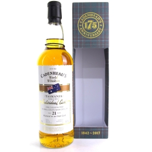 Cradle Mountain 21 Year Old Cadenhead's Single Cask
