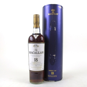 Macallan 18 Year Old 1988