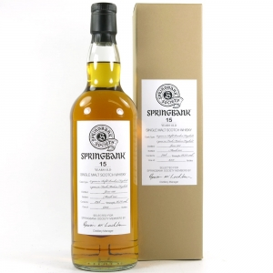 Springbank 1997 Madeira Finish 15 Year Old