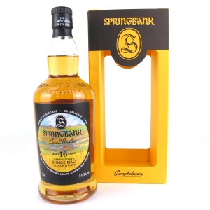 Springbank 1999 Local Barley 16 Year Old