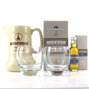 Auchentoshan 18 Year Old Miniature 5cl / INcluding Glasses and Jug
