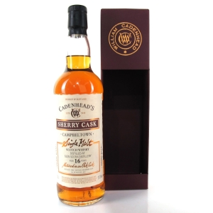 Glen Scotia 2000 Cadenhead's 16 Year Old Sherry Cask