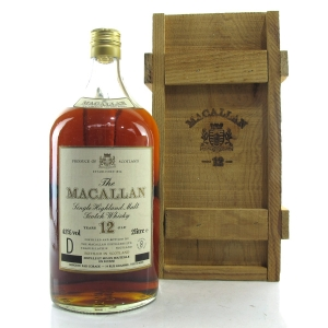 Macallan 12 Year Old 2 Litre 1980s / Corade Import