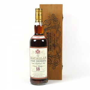 Macallan 1980 Gran Reserva 18 Year Old Front
