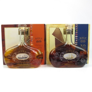 Kelt Tour Du Monde Scotch and XO Cognac 2 x 50cl