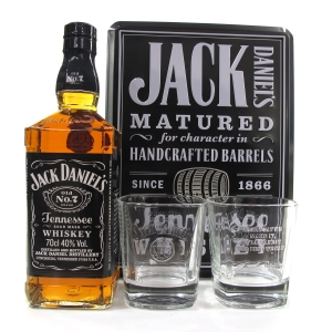 Jack Daniel's No.7 Gift Pack / Including Two Tumblers