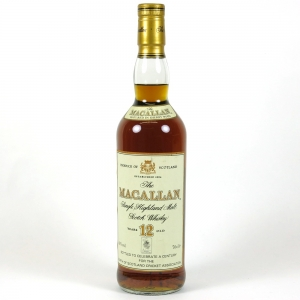 Macallan Century of the North of Scotland Cricket Association 12 Year Old Front