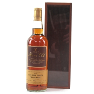 Glenury Royal 1972 Gordon and MacPhail Rare Old