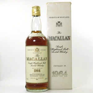 Macallan 1964 Bottled 1981 75cl