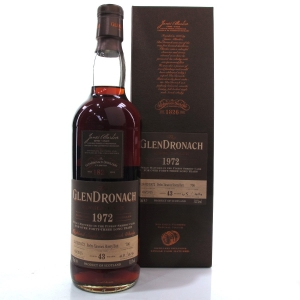 Glendronach 1972 Single Cask 43 Year Old #706