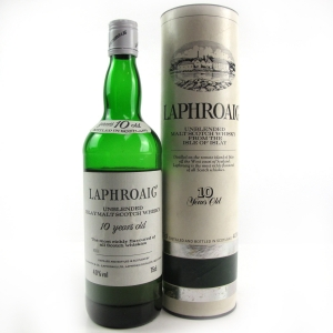 Laphroaig 10 Year Old 1980s / Low Fill