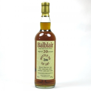 Balblair 1990 Bladnoch Forum 20 Year Old