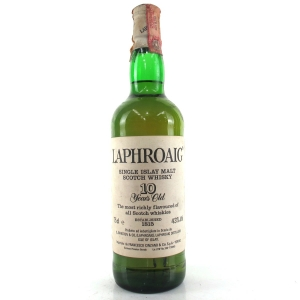 Laphroaig 10 Year Old 1980s / Cinzano Import