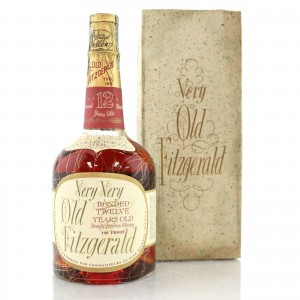 Very Very Old Fitzgerald 1957 Bonded 12 Year Old 100 Proof / Stitzel-Weller