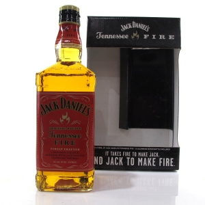 Jack Daniel's Tennessee Fire Gift Set / Including Aluminum Water Bottle