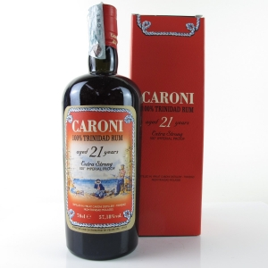 Caroni 1996 100 Proof 21 Year Old Rum