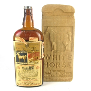 White Horse 8 Year Old Circa 1940s / US Import