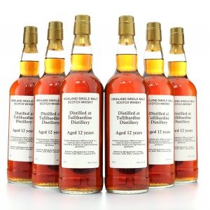 Tullibardine 2006 Private Cask 12 Year Old / Sherry Hogshead 6 x 70cl