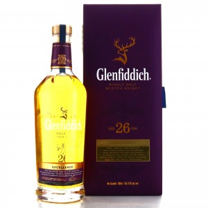 Glenfiddich 26 Year Old Excellence / Indian Import